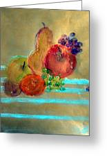 Summer Fruit Greeting Card