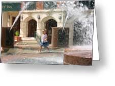 Summer Fun In Charleston Greeting Card