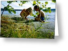 Summer Fun In Finland Greeting Card
