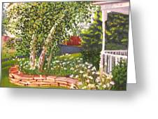 Summer Garden Greeting Card