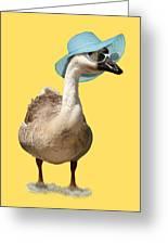 Summer Goose Greeting Card