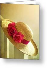 Summer Hat Greeting Card