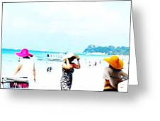 Summer Hats Greeting Card