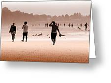Summer Haze Greeting Card by Barbara  White