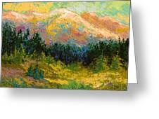 Summer High Country Greeting Card