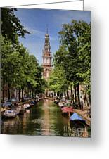 Summer In Amsterdam-2 Greeting Card