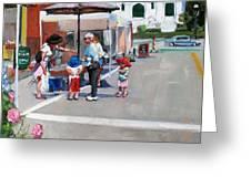 Summer In Hingham Greeting Card