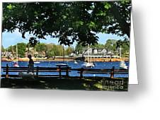 Summer In Marblehead, Ma Greeting Card
