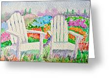 Summer In Paradise Greeting Card by Elena Mahoney