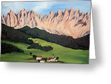 Summer In Switzerland Greeting Card