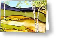 Summer Landscape I Greeting Card
