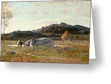 Summer Landscape Greeting Card by Luigi Loir