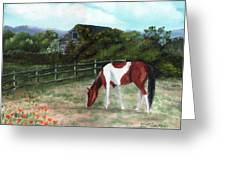 Summer Morning In The Country Greeting Card