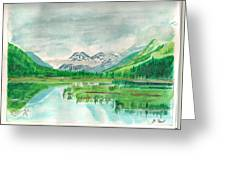 Summer Of Alaska Greeting Card
