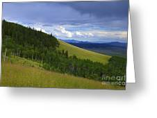 Summer On Kenosha Pass Greeting Card