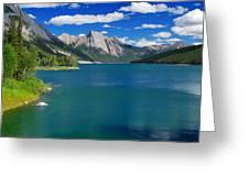 Summer On Medicine Lake Greeting Card