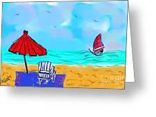 Summer On Nantasket Greeting Card