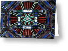 Summer Palace Ceiling Greeting Card