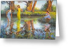 Summer Romantism. Greeting Card