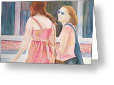 Summer Shoppers Greeting Card