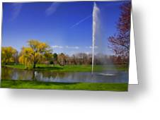 Summer Spout Greeting Card