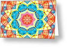 Summer Star Greeting Card