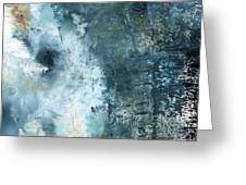 Summer Storm- Abstract Art By Linda Woods Greeting Card by Linda Woods