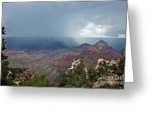 Summer Storm North Rim Grand Canyon National Park Arizona Greeting Card
