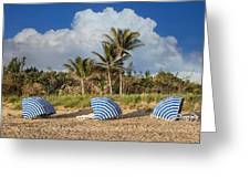Summer Stripes Greeting Card