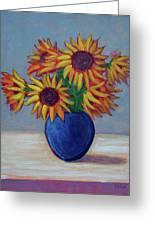 Summer Sunflowers Greeting Card