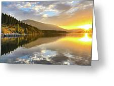Summer Sunrise Greeting Card