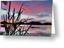 Summer Sunset 03 Greeting Card