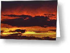 Summer Sunset 04 Greeting Card