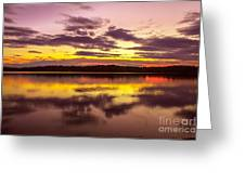 Summer Sunset 1 Greeting Card