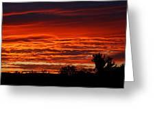 Summer Sunset 2 Greeting Card
