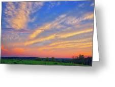 Retzer Nature Center - Summer Sunset #2  Greeting Card