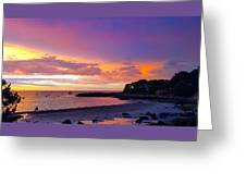 Summer Sunset After The Storm Greeting Card