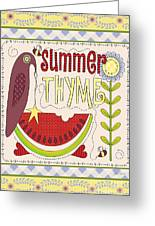 Summer Thyme-jp2832 Greeting Card