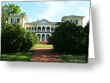 Summer Time At Sweet Briar House Greeting Card