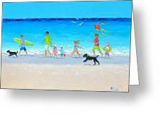 Summer Vacation Time Greeting Card