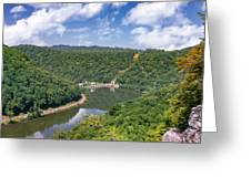 Summer View At Lovers Leap Greeting Card