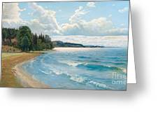 Summer View Greeting Card