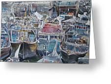 Summer Wharf Dubai Greeting Card