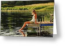 Summers Beauty Greeting Card