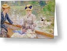 Summers Day Greeting Card by Berthe Morisot