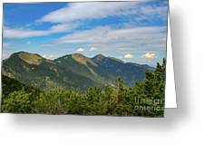 Summertime Alps In Germany Greeting Card