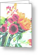 Summertime Blooms Greeting Card