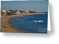 Summertime In Albufeira Greeting Card