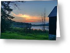 Summertime In Northern Michigan Greeting Card