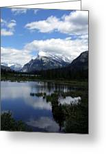 Summertime In Vermillion Lakes Greeting Card